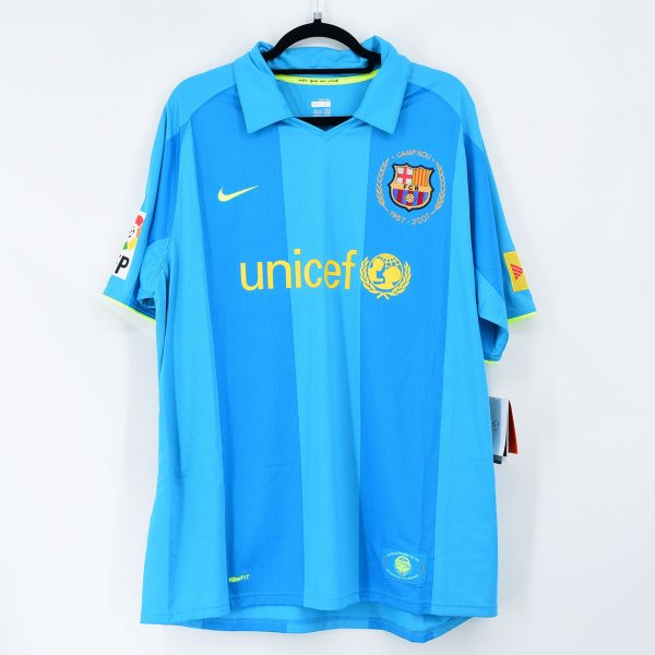 Detenerse vendedor grado  2007-08 Barcelona Away Shirt #10 RONALDINHO Nike *New* XL – Kitroom Football