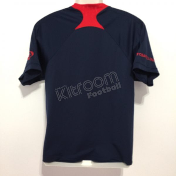 Detectable Consulado Espantar  2007-08 Barcelona Training Shirt Nike (Very Good) S – Kitroom Football