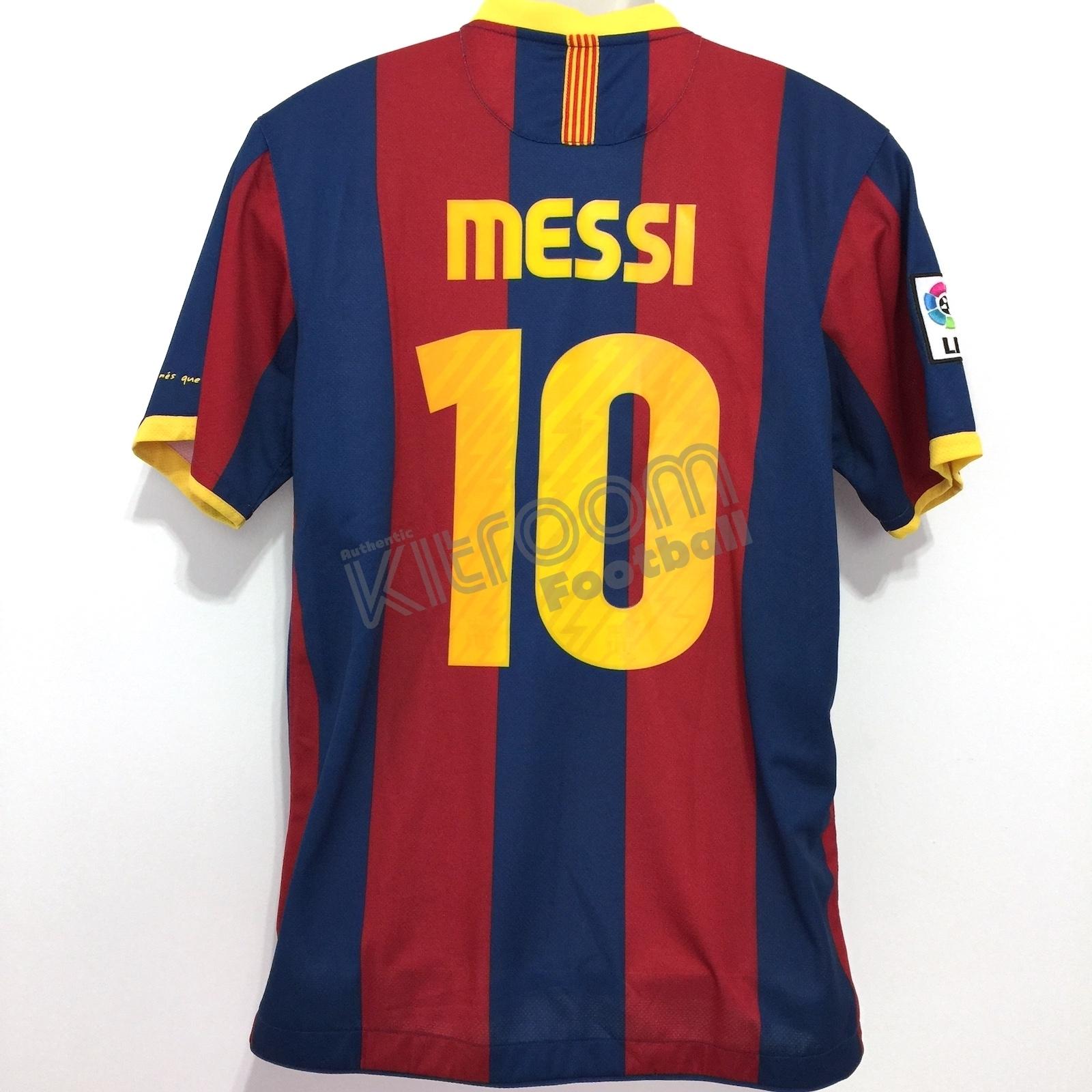 d445fb806ac 2010-11 Barcelona Home Shirt Messi  10 Nike  BNWT  L – Kitroom Football