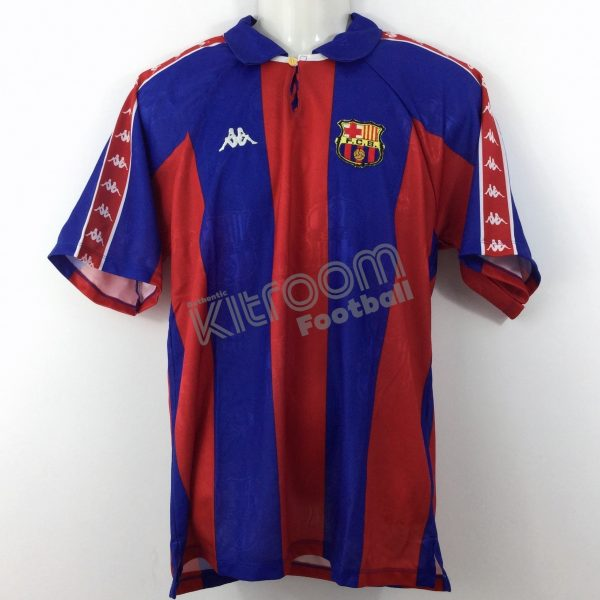 huge discount c618f dddaa 1993-94 Barcelona Home Shirt Kappa *BNWT* M