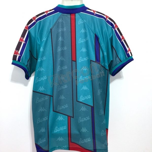 release date: 92cce 7c891 1995-97 Barcelona Away Shirt Kappa (Very Good) L