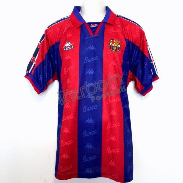 newest d561a ff1af 1995-97 Barcelona Home Shirt Kappa *BNWT* M