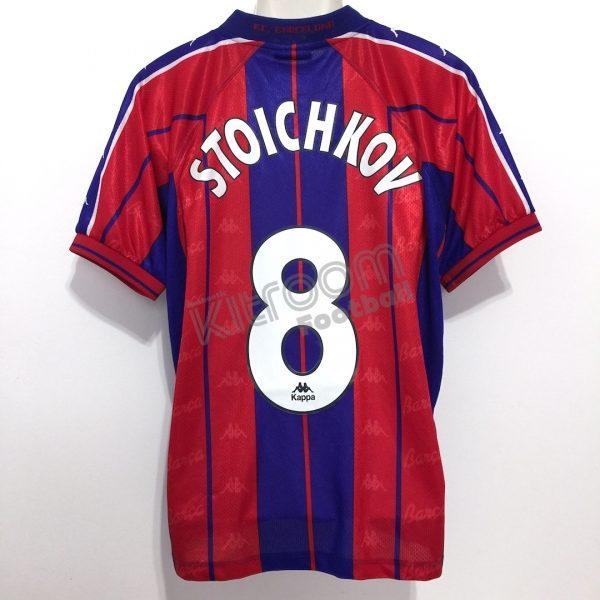premium selection 649a1 a467b 1997-98 Barcelona Home Shirt Stoichkov #8 Kappa (Good) L