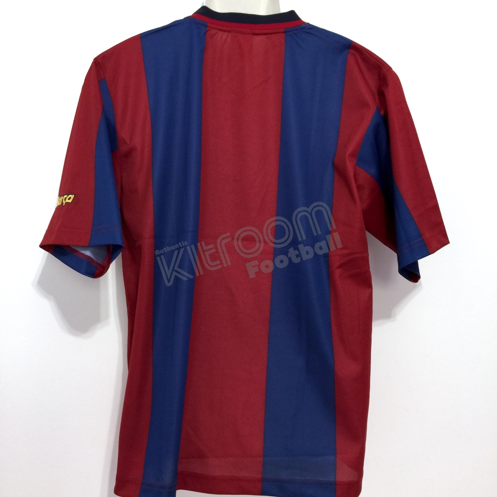 4003b9ea8 1998-99 Barcelona Home Shirt Nike (Very Good) M. FCB98HSSM-VG
