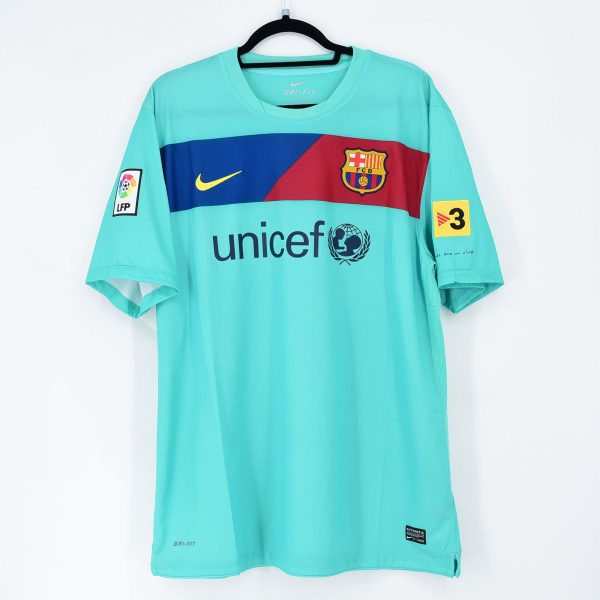 2010 11 Barcelona Away Shirt 10 Messi Nike New Xl Kitroom Football