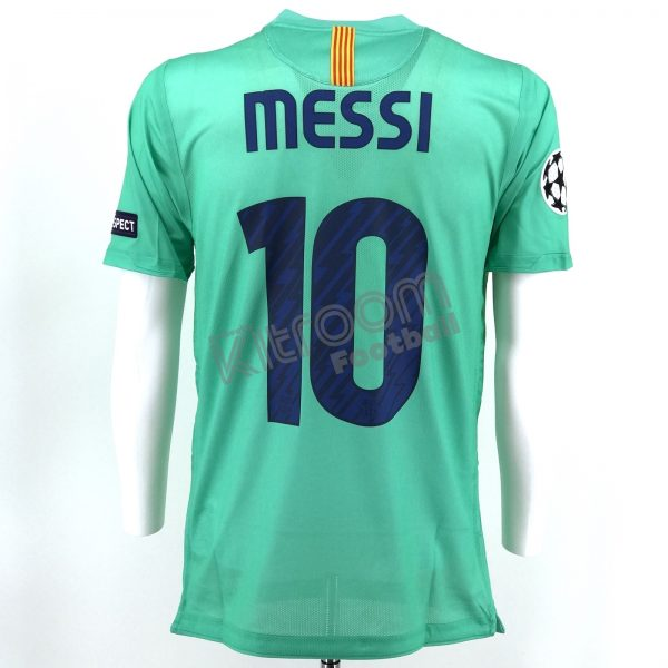 1f7977ab7f2 2010-11 Barcelona Player Issue Nike CL Away S S Shirt Messi  10 M ...