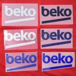 Barcelona Beko Player Issue Sponsor Patch