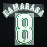 2017-18 Betis Player Issue Away Name Set 5