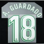2017-18 Betis Player Issue Away Name Set 6