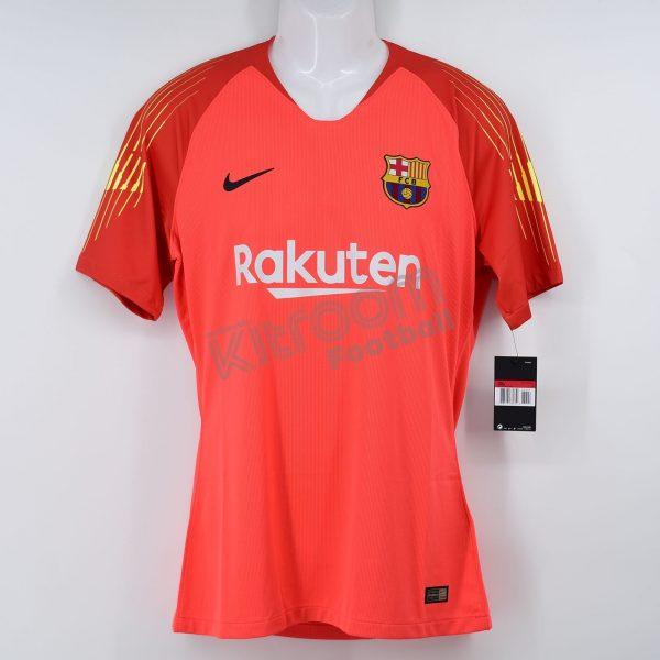 low priced 4e996 5d1a3 2018-19 Barcelona Player Issue Gk Shirt Light Orange Nike *BNWT* L