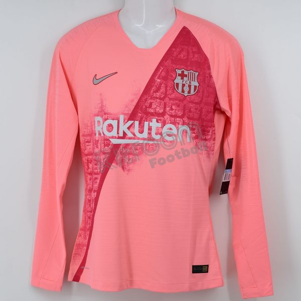 official photos d51f2 c7cca 2018-19 Barcelona Player Issue Third L/S Shirt Vaporknit Nike *BNWT* M