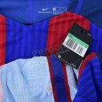 2016-17 Barcelona Player Issue Vapor Match Home L/S Shirt Nike *BNWT* XL