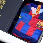 Barcelona 20th Anniversary Shirt Box Collectors Edition Nike Vaporknit