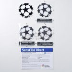 Official UEFA Champions League Starball Player Issue Patch Sporting ID