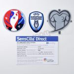 Official UEFA EURO 2016 Player Issue Patch Sporting ID