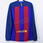 2016-17 Barcelona Player Issue Vapor Match UCL Home L/S Shirt Nike *BNWT* L