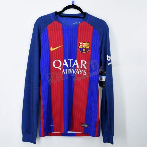 the best attitude 61b27 4d39d 2016-17 Barcelona Player Issue Vapor Match Home L/S Shirt Nike *BNWT* M