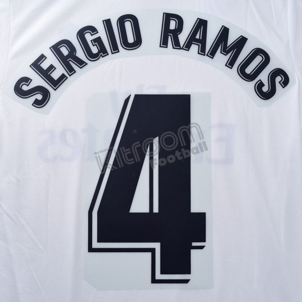 hot sale online 65cf0 4cac6 2018-19 Real Madrid La Liga Home Name Set