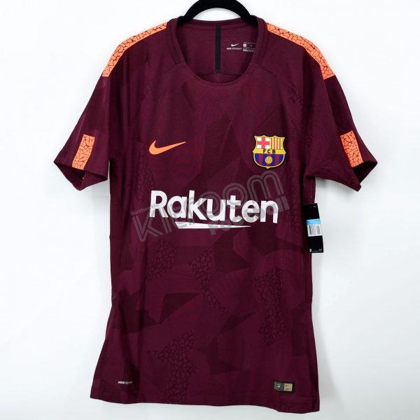 cheap for discount 97b20 cbeaf 2017-18 Barcelona Player Issue Third Shirt Nike *BNWT* M
