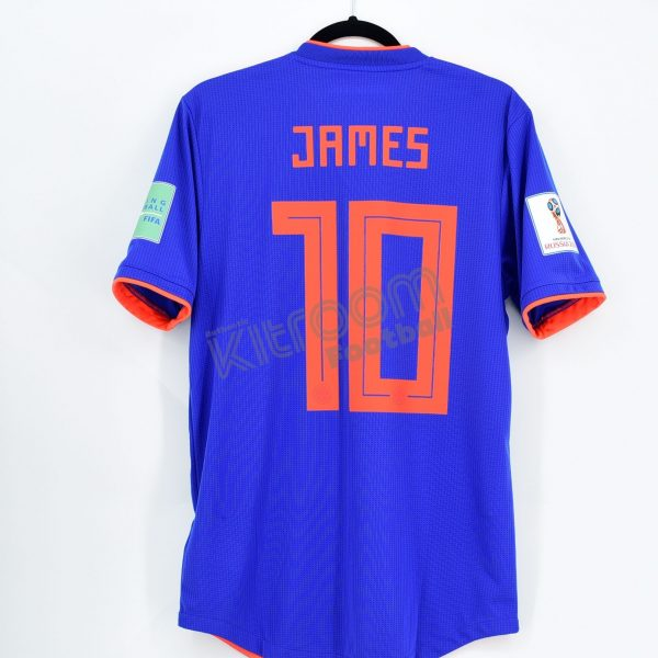 new product ed16d 265e6 Colombia Player Issue Away Shirt #10 JAMES World Cup 2018 Match Un Worn  Climachill