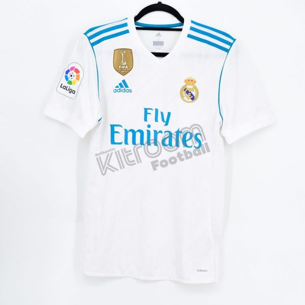 best loved b7fff 86f46 2017-18 Real Madrid Player Issue Authentic Home Shirt Ronaldo #7 Adidas  *BNWT* L Adizero