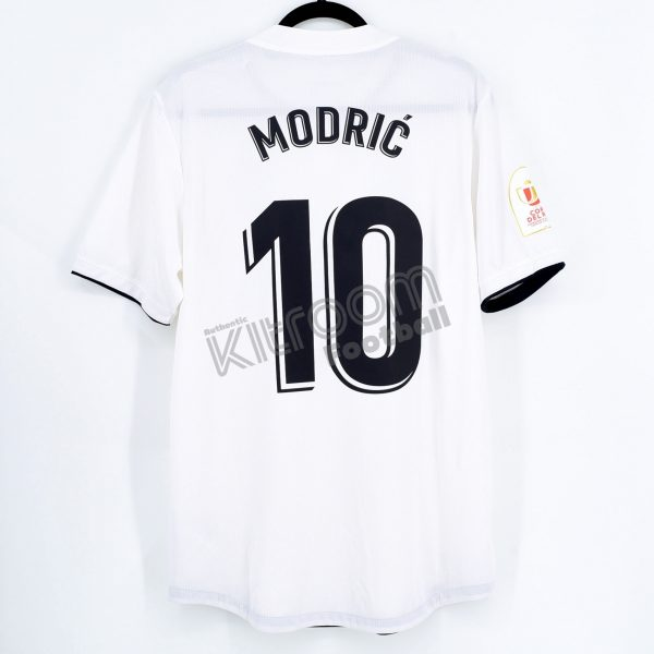 new arrival 4cb74 d9da7 2018-19 Real Madrid Player Issue Authentic Home Shirt #10 MODRIC Adidas  (Mint) L Climachill Copa del Rey