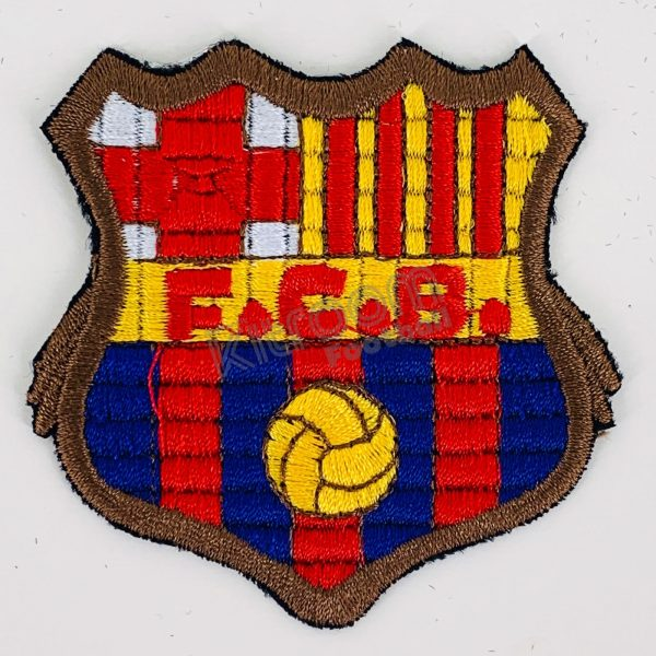 Escudo Fc Barcelona Meyba Badge Crest Patch Kitroom Football