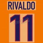 1998-99 FC BARCELONA NIKE RIVO