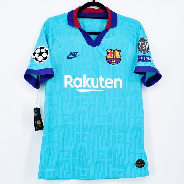 2019 20 Barcelona Authentic Third Shirt Ansu Fati 31 Ucl Kitroom Football