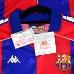 1992-95 Barcelona Home Shirt Kappa *New* M1