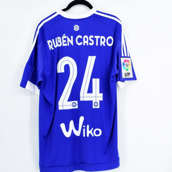 2015 16 Betis Third Shirt #24 RUBÉN CASTRO Adidas *BNWT* L