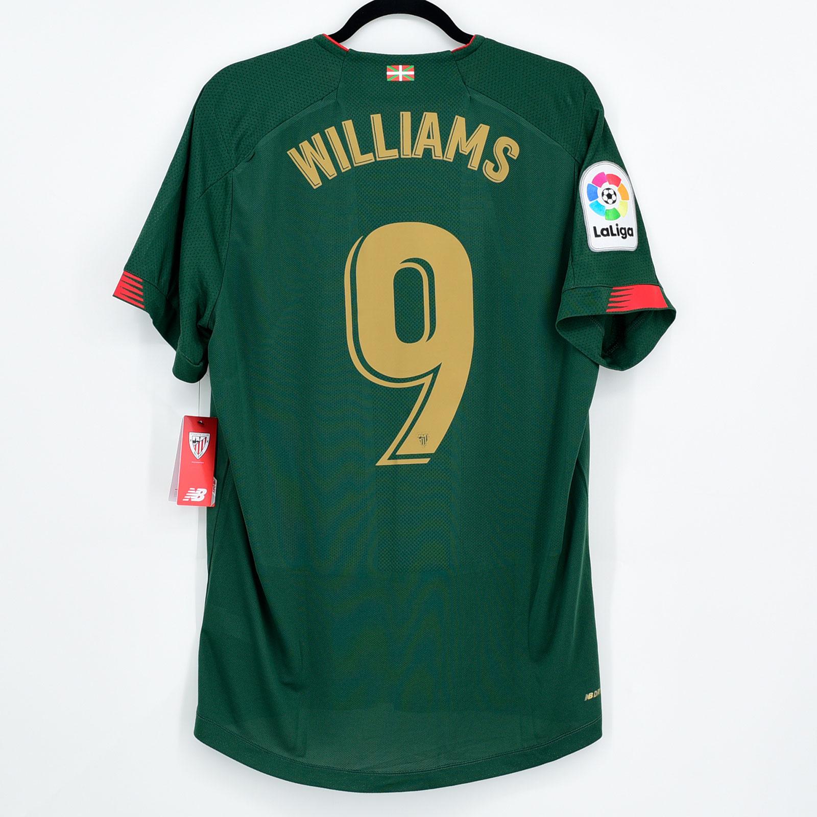 2019-20 Athletic club bilbao away shirt #9 williams * BNWT ...