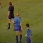 1984-85 Barcelona Away Retro Blue Shirt L:S Meyba3