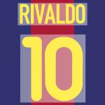 FC BARCELONA 2000-01 10 rivaldo