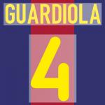 FC BARCELONA 2000-01 4 GUARDIOLA