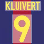 FC BARCELONA 2000-01 9 KLUIVERT