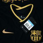 2020-21 Barcelona Away Match Shirt La Liga3