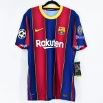 2020-21 Barcelona Home Match Shirt #10 MESSI Champions League2