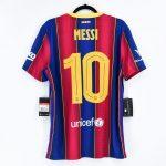 2020-21 Barcelona Home Match Shirt #10 MESSI Gamper Trophy1