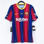 2020-21 Barcelona Home Match Shirt #10 MESSI Gamper Trophy2
