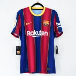 2020-21 Barcelona Home Match Shirt #10 MESSI La Liga1