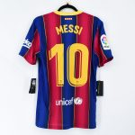 2020-21 Barcelona Home Match Shirt #10 MESSI La Liga2